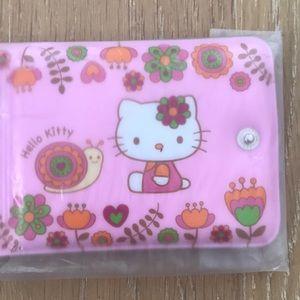 NEW SANRIO Hello Kitty Snap Wallet + Bonus Pen!